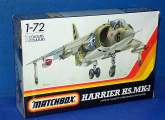 Matchbox 1/72 PK16 Harrier HS Mk.I Date: 1983