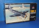 Accurate Miniatures 1/48 3404 TBM-3 Avenger (Cracked Decals) Date: 90's