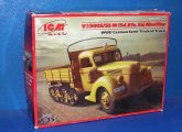 ICM 1/35 35412 V3000S Maultier German Semi Track Truck Date: 00's