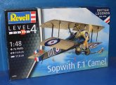 Revell 1/48 03906 Sopwith F1 Camel Date: 00's