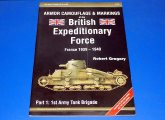 Model Centrum Progres - - Armor Color Gallery No 15 - British Expeditionary Force Camouflage Markings Date: 00's