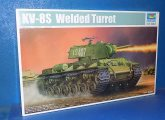 Trumpeter 1/35 01568 KV-8S Welded Turret Date: 00's