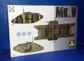 Takom 1/35 2034 WWI Mk.V Heavy Tank (3 in 1 kit) Date: 00's