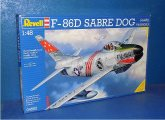Revell 1/48 04502 F-86D Sabre Dog (Early) Date: 00's