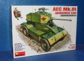 Miniart 1/35 35159 AEC Mk.III Armoured Car Date: 00's