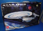 AMT 1/1000 8762 Star Trek USS Enterprise B (No Instructions) Date: 90's