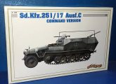 Cyber Hobby 1/35 6413 Sd.Kfz.251/17 Ausf.C Command Version Date: 00's