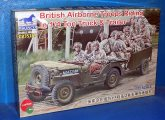 Bronco 1/35 35169 British Airborne Troops riding in 1/4 Ton Truck and Trailer Date: 00's