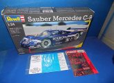 Revell 1/24 07250 Sauber Mercedes C-9 w/ Studio 27 etch and paint masks Date: 00's