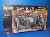 Revell 1/9 3070 BMW R75 w/ Sidecar (No Instructiions) Date: 00's
