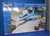 Revell 1/72 4376 Eurofighter Diorama Set, w/ Shelter, Ground Plate and Equipment (No Instructions) Date: 00's