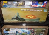 Trumpeter 1/350 05303 USS BB-55 North Carolina w/ White Ensign PE3585 Etch Set Date: 00's