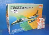 Academy 1/48 2164 Hawker Hunter F6 w/ Aeroclub Correction Set Date: 00's