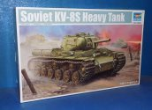 Trumpeter 1/35 01572 KV-8S Heavy Tank Date: 00's