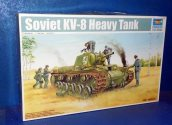 Trumpeter 1/35 01565 KV-8 Heavy Tank Date: 00's