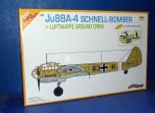 Dragon 1/48 5565 Ju88A-4 Schell Bomber w/ Ground Crew Date: 00's