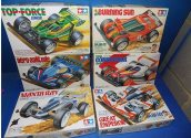 Tamiya 1/32 - 6x Various Mini 4WD Motorised Cars Date: 00's