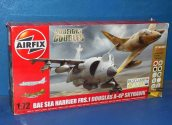 Airfix 1/72 50134 Dogfight Double - Sea Harrier and Skyhawk w/ Paints etc Date: 00's