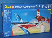 Revell 1/48 04347 Reno Racer Set - P-51D and T-6 Date: 00's