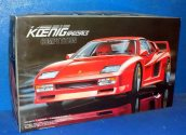 Fujimi 1/24 2 Koenig Specials Competition Date: 00's