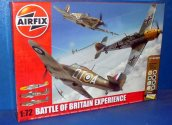 Airfix 1/72 50153 Battle of Britain Experience - Hurricane, Spitfire and Me109 Gift Set Date: 00's