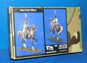 Verlinden 120mm 1167 General Krasinski Polish Light Horse Date: 90's
