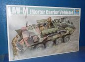 Trumpeter 1/35 00391 LAV-M Mortar Carrier Date: 00's