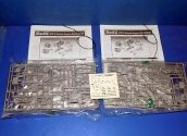 Revell 1/48 4511 WWII Ground Suupoort Equipment x2 (No Boxes) Date: 00's