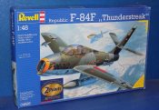 Revell 1/48 04526 F-84F Thunderstreak and Mig-15 Bis Fagot (2 Kits one box) Date: 00's