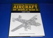 Books - - Technical Drawings of Aircraft of WW2 Date: 90's