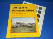Kookaburra - - Luftwaffe Painting Guide /w Colour Chart Date: 90's