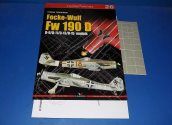 Kagero - - Top Drawings 26 - Fw190D9 w/ Masks and Plans Date: 00's