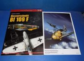 Kagero - - Top Drawings 76 - Bf109F w/ Poster Date: 00's