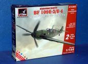 Armory Models 1/144 14303 Bf109E-3/E-4 (2 Kits) Set 1 Early WWII Date: 00's