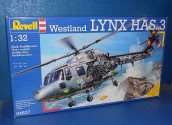 Revell 1/32 04837 Westland Lynx HAS.3 Date: 00's
