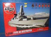 Airfix 1/350 12203 Type 45 Destroyer Date: 00's