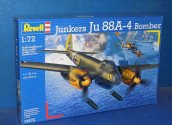 Revell 1/72 04672 Junkers Ju88 A-4 Date: 00's