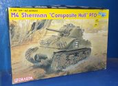 Dragon 1/35 6441 M4 Sherman Composite Hull PTO (Tracks joined) Date: 00's