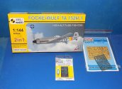 Mark 1 1/144 14438 Fock Wulf Ta152 H-1 (2 Kits) w/ Etch and Masks Date: 00's