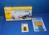 Mark 1 1/144 14443 Fock Wulf Ta152 H-1 (2 Kits) w/ Etch and Masks Date: 00's
