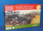Plastic Soldier Company 1/72 WW2V20013 Allied M5 Half Track ( 3x Vehicles 24 Figures) Date: 00's