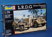Revell 1/76 03225 LRDG 30cwt Chevrolet and Jeep Date: 00's