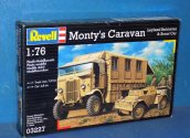 Revell 1/76 03227 Monty's Caravan and Scout Car Date: 00's