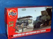 Airfix 1/76 03306 Bedford QLT and QLD Trucks Date: 00's