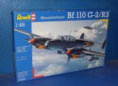 Revell 1/48 04530 Bf110 G-2/R-3 (No Decals) Date: 00's