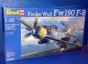 Revell 1/32 04869 Fw190 F-8 Schlachter Date: 00's