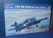 Trumpeter 1/32 02259 F6F-5N Hellcat Night Fighter Date: 00's