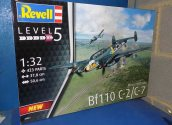 Revell 1/32 04961 Bf110 C-2/C-7 Date: 00's
