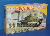 Dragon 1/72 7254 King Tiger Porsche Turret w/ Zimmerit Date: 00's