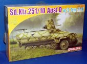 Dragon 1/72 7280 Sd.Kfz.251/10 Ausf.D Date: 00's